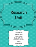 Research Paper Unit Mega Bundle