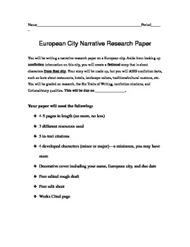 Research Paper Unit with Creative Writing