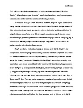 Research Paper -- Welcome to the World, Baby Girl