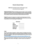 Research Paper Workbook (Genetics as the Field of Focus)