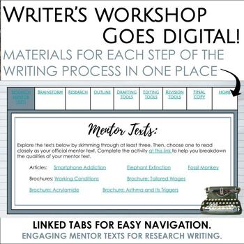 Research Paper Writing Workshop in Google Slides
