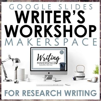 Distance Learning Research Paper Writing Workshop in Google Slides