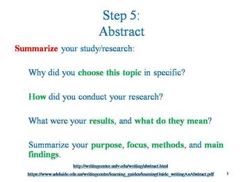 Research Paper Writing: An Introduction