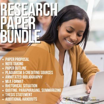 Research Paper Bundle of Lessons