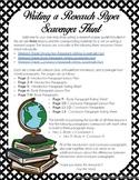 Research Paper Writing Scavenger Hunt BUNDLE!