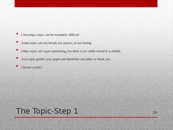 Research Papers PowerPoint