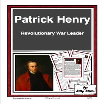 Research Patrick Henry American Revolution