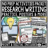 Digital Research Paper Writing: Graphic Organizers, Biogra