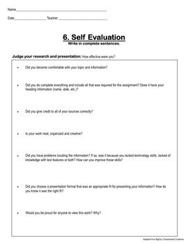 Research Planning Packet & Mini-lessons for Grades 4-6