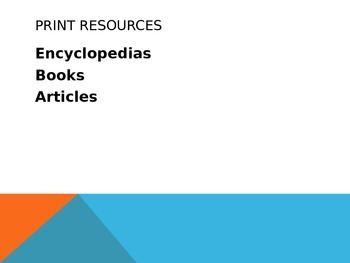 Research PowerPoint
