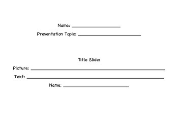 Research Presentation Template