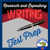 TEST PREP Research Process and Expository Writing Formative Assessment