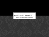 Research Process Power Point