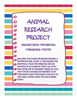 Research Project-Animals