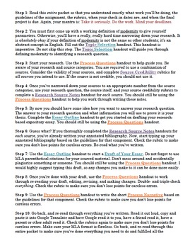 Research Project: Annotated Bibliography, Expository Essay
