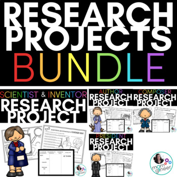 Research Biography BUNDLE Composers, Presidents, Authors, Scientists & Inventors