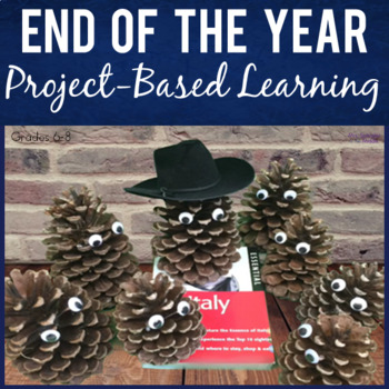 Project Based Learning - Travel Research w/ Pine Cone Pets!