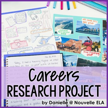 Research Project - Complete Careers Packet