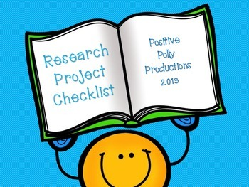 Research Project Checklist