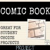 Comic book project for any unit of study RECENTLY UPDATED