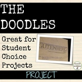 Doodles Project for any subject EDITABLE RUBRIC Distance Learning