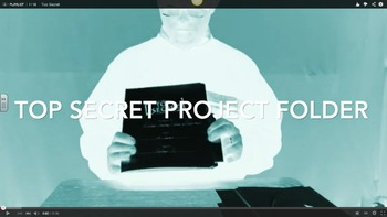 Research Project Folder Top Secret For Any Subject