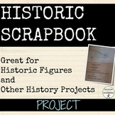 Scrapbook Project for History or ELA EDITABLE