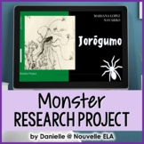 Research Project - Monsters Through Time (paper + digital)