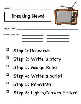 Research Project Newscast
