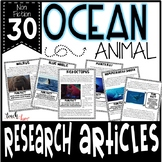 Research Project: Ocean Animal Information