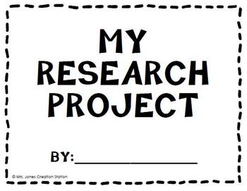 Research Project Packet