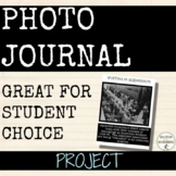 Photo Journal project for any subject  Great for Differentiation