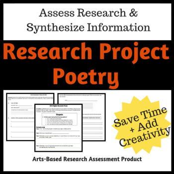 Research Project Poem (Assessment)
