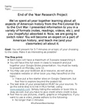 Research Project - Post Civil War US to 20th Century