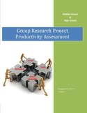 Research Project Productivity Assessment
