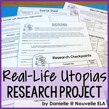Research Project - Real-Life Utopias Portfolio