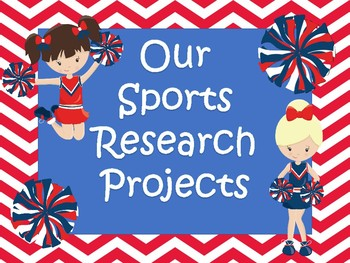 Homework Research Project -SPORTS with rubrics ,QR codes, parent letter and MORE