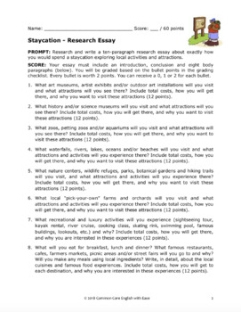 Research Project Template Independent - Fun Research Paper Topic
