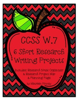 Research Projects Bundle W.7 (6 Writing Projects)