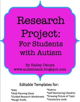Research Project for Students with Autism