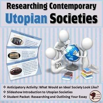 Essay Tips For High School  Sample Apa Essay Paper also English Essay Creating A Utopian Society Teaching Resources  Teachers Pay Teachers Essay Papers