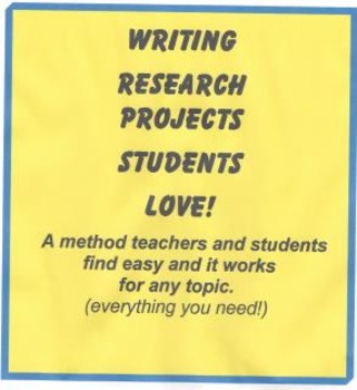 Research Projects Students LOVE - an easy way!