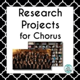 Research Projects for Chorus (Distance Learning)