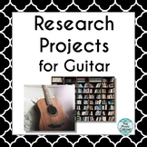Research Projects for Guitar (Distance Learning)