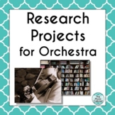 Research Projects for Orchestra (Distance Learning)