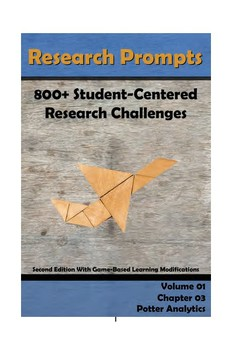 Research Prompts: 800+ Student-Centered Research Challenges Chapter 3