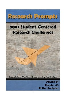 Research Prompts: 800+ Student-Centered Research Challenges Chapter 8