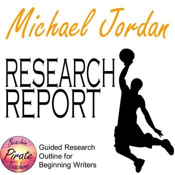 Research Report Biography Template - MICHAEL JORDAN