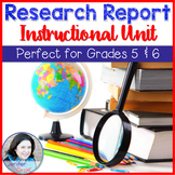 Research Report Instructional Unit for 5th Grade and 6th Grade