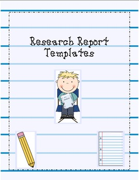 research report templates by for the love of teaching tpt